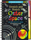 Scratch & Sketch Outer Space (Trace Along) Cover Image