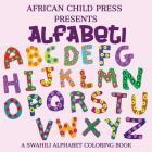 Alfabeti: Swahili Alphabet Coloring Book Cover Image