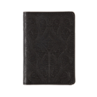 Christian Lacroix Heritage Collection Black Paseo Embossed Passport Holder Cover Image