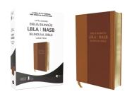 Lbla - La Biblia de Las Américas / New American Standard Bible - Biblia Bilingüe, Leathersoft, Café Cover Image
