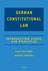 Casebook on German Constitutional Law Cover Image