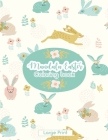 Mandala Easter Coloring Book: Large Print Easter Egg Coloring Book for Kids With Mandala Design! Cover Image