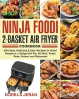 Ninja Foodi 2-Basket Air Fryer Cookbook Cover Image