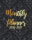 2020-2022 Monthly Planner: Art Black Mandala, 36 Months Appointment Calendar, Agenda Schedule Organizer Logbook, Business Planners and Journal Wi Cover Image