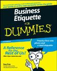 Business Etiquette for Dummies Cover Image