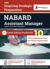 NABARD Assistant Manager Prelims Exam 2021 (Grade A & B) 10 Full-length Mock Tests (Solved) Preparation Kit by EduGorilla Cover Image