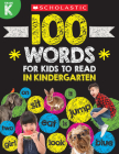 100 Words for Kids to Read in Kindergarten Workbook Cover Image