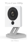 Wyze-Cam-1080p: HD Indoor WiFi Smart Home Camera with Night Vision, 2-Way Audio, Works with Alexa & the Google Assistant, White, 1-Pac Cover Image