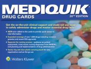 MediQuik Drug Cards Cover Image