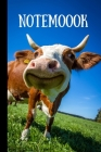 Notemoook: Happy & Funny Cow Notebook, Cow Lovers Gifts, (6