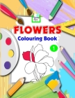 Flowers Colouring Book Cover Image