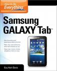 How to Do Everything Samsung Galaxy Tab Cover Image