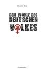 Dem Wohle des deutschen Volkes Cover Image