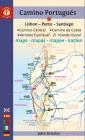 Camino Portugués Maps: Lisbon - Porto - Santiago / Camino Central, Camino de la Costa, Variente Espiritual & Senda Litoral (Camino Guides) Cover Image