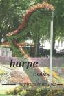 harpe notes papier a musique: papier a musique, Partitions vierges, partitions de bloc-notes / livre de composition de musique vierge / cahier de pa Cover Image