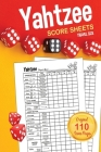 Yahtzee Score Sheets: TRAVEL SIZE Score Pads / Book Cover Image