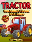 Tractor Coloring Book Cover Image