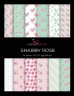 Shabby Rose: Scrapbooking, Design and Craft Paper, 40 sheets, 12 designs, size 8.5