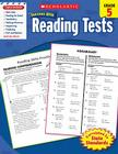 Scholastic Success With Reading Tests, Grade 5 Cover Image