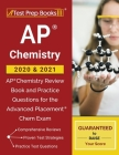AP Chemistry 2020 & 2021: AP Chemistry Review Book and Practice Questions for the Advanced Placement Chem Exam Cover Image