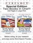 Special Edition, Two Books in One!!! Circle It, Hillary Clinton Facts and Donald Trump Facts, Word Search, Puzzle Book Cover Image