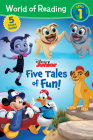 World of Reading: Disney Junior Five Tales of Fun! (Level 1 Reader Bindup) Cover Image
