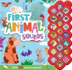 My First Animal Sounds: With 22 Sound Buttons Cover Image