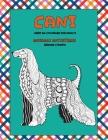 Libri da colorare per adulti - Grande stampa - Animali antistress - Cani Cover Image