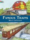 Famous Trains (Dover Coloring Books) Cover Image