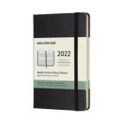 Moleskine 2022  Weekly Vertical Planner, 12M, Pocket, Black, Hard Cover (3.5 x 5.5) Cover Image