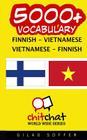 5000+ Finnish - Vietnamese Vietnamese - Finnish Vocabulary Cover Image