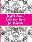 Inspirational Coloring Book for Women Cover Image