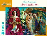 Olga Suvorova: Annunciation 1000-Piece Jigsaw Puzzle Cover Image