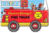 Curious George's Fire Truck (mini movers shaped board books) Cover Image