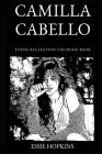 Camilla Cabello Stress Relaxation Coloring Book Cover Image