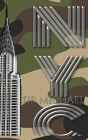 Iconic Chrysler Building New York City camouflage Sir Michael Huhn Artist Drawing Journal Cover Image