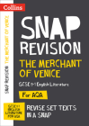 Collins Snap Revision Text Guides – The Merchant of Venice: AQA GCSE English Literature Cover Image
