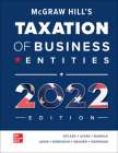 Loose Leaf for McGraw-Hill's Taxation of Business Entities 2022 Edition Cover Image