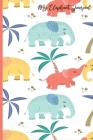 My Elephant Journal: School Students Adorable Blank Lined Creative Writing Notebook For Young Children Teens and Adults, Kids Notes Homewor Cover Image