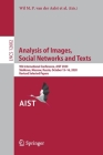 Analysis of Images, Social Networks and Texts: 9th International Conference, Aist 2020, Skolkovo, Moscow, Russia, October 15-16, 2020, Revised Selecte Cover Image