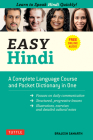 Easy Hindi: A Complete Language Course and Pocket Dictionary in One (Companion Online Audio, Dictionary and Manga Included) Cover Image