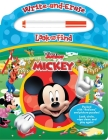 Disney - Mickey Mouse Clubhouse - Write-And-Erase Look and Find Wipe Clean Board [With Marker] Cover Image