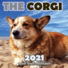 The Corgi 2021 Mini Wall Calendar Cover Image