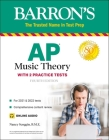 AP Music Theory: with 2 Practice Tests Cover Image