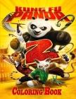 Kung Fu Panda Coloring Book Cover Image