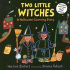 Two Little Witches: A Halloween Counting Story Sticker Book Cover Image