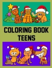 Coloring Book Teens: Funny, Beautiful and Stress Relieving Unique Design for Baby, kids learning (Safari Animals #6) Cover Image