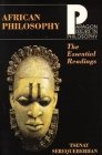 African Philosophy: The Essential Readings (Paragon Issues in Philosophy) Cover Image