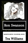 Ron Swanson Mindfulness Coloring Book Cover Image