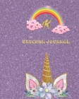 Unicorn Journal K: Activity book for the writing and drawing for boys with your favorite character Cover Image